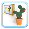 SMALL LINK CACTUS figue de barbarie / prickly pear Amigumi Kit FROGandTOAD Créations
