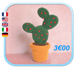 CACTUS Figue de Barbarie Prickly Pear Amigurumi FROGandTOAD LINK