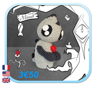 Minuit Monstre / Midnight Monster Amigurumi FROGandTOAD Créations LINK
