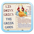 LES DIEUX GRECS / THE GREEK GODS Poster Small Link