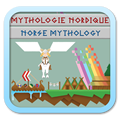 MYTHOLOGIE NORDIQUE / NORSE MYTHOLOGY Poster Small Link